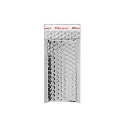 100 Enveloppes Bulles Métalisées PRO B/00-210 x 120 mm Premium (Silver)
