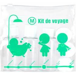 Jet Lag - Kit de voyage 6 piéces