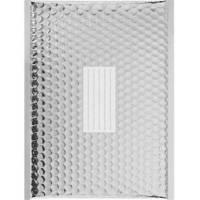 100 Enveloppes à Bulles Matelassées Métalisées - 440 X 300 mm - J/6 - PRO (Silver)