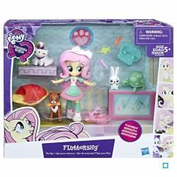 My Little Pony - Equestria Girls Poupée - La Clinique Vétérinaire de Fluttershy