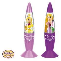 Lampe LED à Paillettes Princesse Raiponce 18 cm