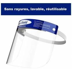 Visieres de Protection Transparente antiprojection 32x22 cm