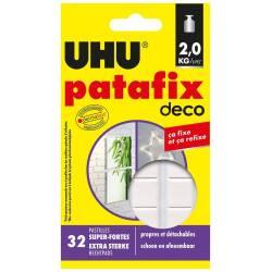 UHU Patafix Deco - 32 Pastilles Super-Fortes