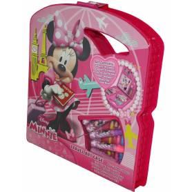 Coffret artistique voyage - malette de coloriage - Minnie Mouse