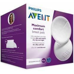 Philips Avent - 60 coussinets d'allaitement jetable Jour
