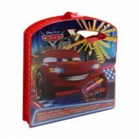 CARS flash mcqueen - Coffret de coloriage artistique de voyage