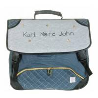 "Karl Marc John - Cartable ""Star"" - 41 cm - Gris"