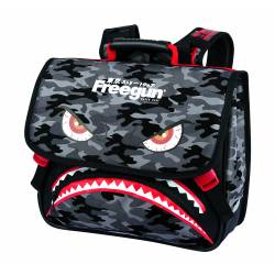 Cartable 38 cm Oberthur Freegun Monster