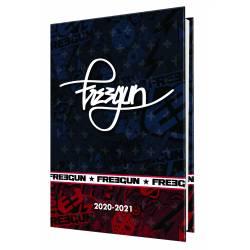 Agenda 2020/2021 Freegun Ado Boy 80'S 1 Jour/Page Oberthur