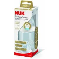 NUK Nature Sense biberon en verre, 0-6 mois, 120 ml