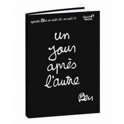 Cahier de Textes Souple Ben Un Jour Après l'Autre - 16 x 24 cm