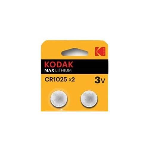 Pile bouton CR1025 3 V Lithium Kodak
