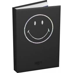 Agenda 2020/2021 Smiley Collector Noir - 12x17 cm