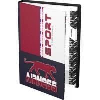Agenda Airness Sportwear Noir et Rouge 2020/2021