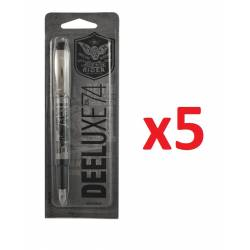Lot de 5 stylos plumes DEELUXE Oberthur