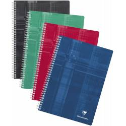 Cahier Clairefontaine Spirale 21x29.7 cm 148 pages Grands Carreaux