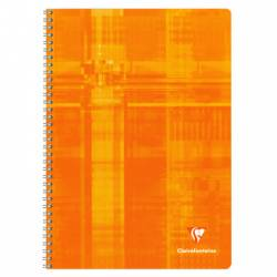 Notebook Clairefontaine Spirales 21x29.7 100 pages Large Tiles