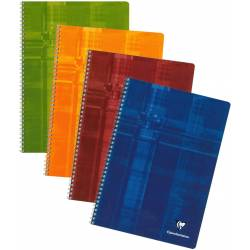 Cahier Clairefontaine Spirales 21x29.7 100 pages Grands Carreaux