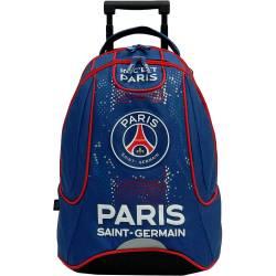 PSG Sac à Dos à roulettes Collection Officielle Paris-Saint-Germain