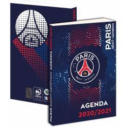 Agenda Foot PSG 2020/2021 - 12 X 17 cm