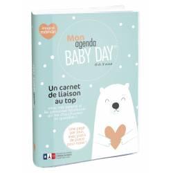 Agenda Baby Day 15x21 cm Journalier Non Daté