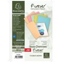 Paquet de 50 Sous-chemises Forever 60 - 22 x 31 cm