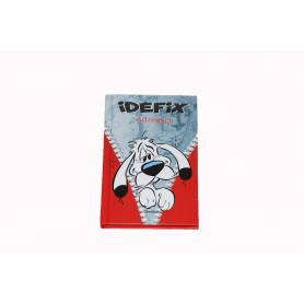 Kleine map Asterix adresboek 8 x 13 cm