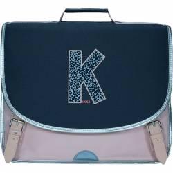 Cartable IKKS 38 cm Boy Kings Bleu Chiné