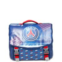 Cartable à Roulettes PSG 41 cm 2 Compartiments Bleu
