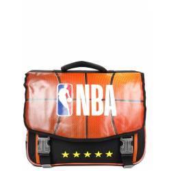 Cartable NBA 41 cm 2 Compartiments Noir