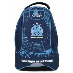 Sac à Dos à Roulettes Olympique de Marseille 47 cm 2 Compartiments Bleu Marine