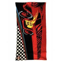 Drap de Plage Cars Rouge 70 x 140 cm