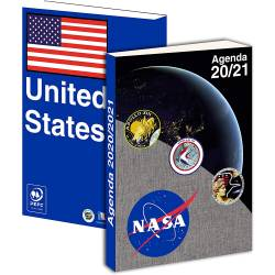 Agenda 2020-2021 NASA Journalier 12 x 17 cm