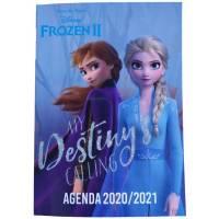 Agenda La Reine des Neiges 2 2020-2021 Journalier 12 x 17 cm