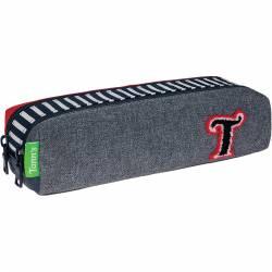 TANN'S double compartment pencil case TEDDY