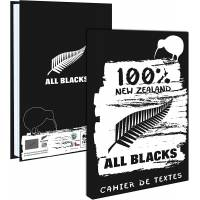 Cahier de Textes All Blacks 15 x 21 cm