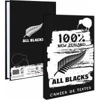 Cahier de Textes All Blacks 15 x 21 cm