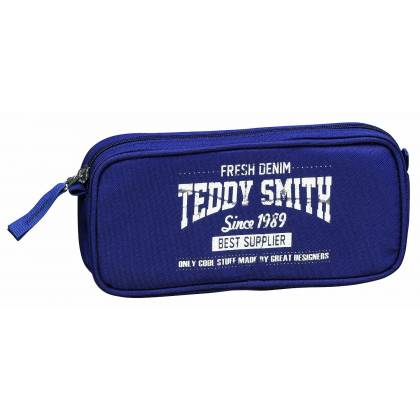 "Trousse fourre-tout rectangulaire ""Teddy Smith"" - Rebel - 22x10x4"