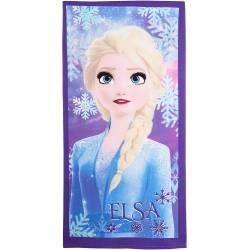 Serviette de Plage La Reine des Neiges 2 Elsa Violette 175 x 125 cm