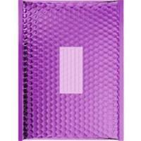 50 Enveloppes à Bulles Matelassées Métalisées -360 X 270 mm - H/5 - PRO (Purple)