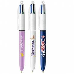 Stylo BIC 4 couleurs Message
