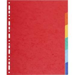 Intercalaires 6 Positions Carte Exacompta A4 Maxi