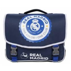 Cartable Real Madrid 41 cm 2 Compartiments Bleu