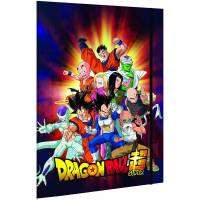 Dragon Ball Super Lot de 2 Chemises 3 rabats à élastique A4
