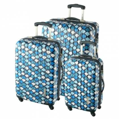 Monsieur Madame Set de 3 valises trolley Mixte