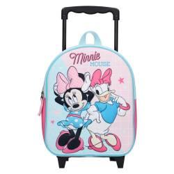 Sac à Dos à Roulettes Minnie Mouse 3D Simply Sweet - 31 cm
