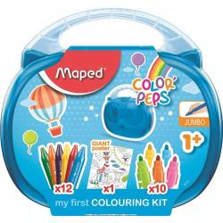 Mallette de Coloriage Maped Color'peps Premier Age