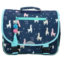Schoolbag Milky Kiss Focus Llama Love 38 cm