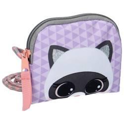 Lulupop & The Cutiepies Magical Fur Raccoon Purse