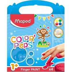 Peinture au Doigt Maped Color'peps
